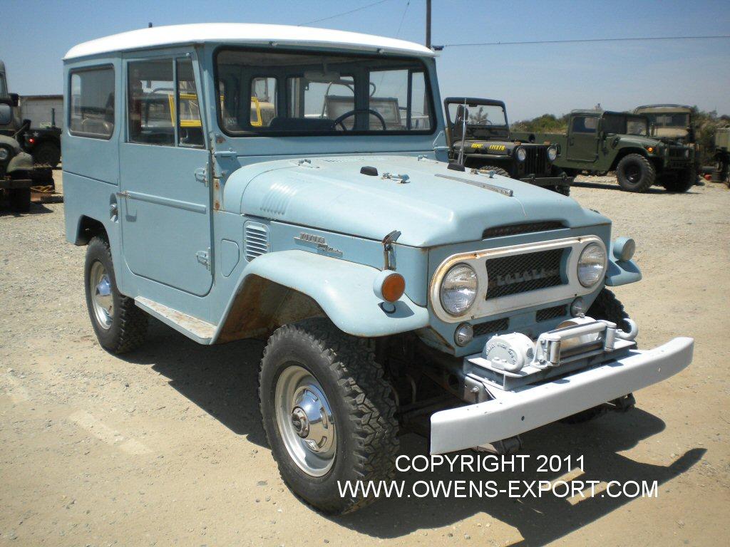 Owens-Export Com 1966 Toyota Land Cruiser FJ40 For Sale