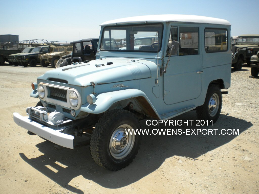 Owens-Export Com 1966 Toyota Land Cruiser FJ40 For Sale