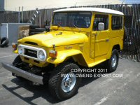 Toyota LandCruiser for sale FJ40